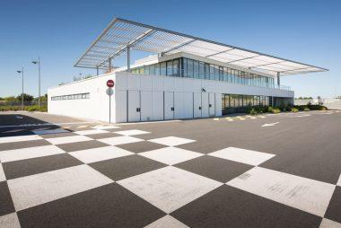 Una nueva sede con fachadas eficientes para una empresa pública de transportes de Toulouse, Francia