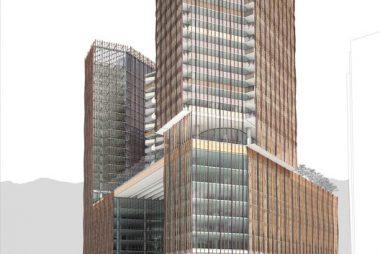 El proyecto de +Arquitectos y Sauerbruch Hutton que transformará la esquina de Apoquindo con Manquehue en Santiago