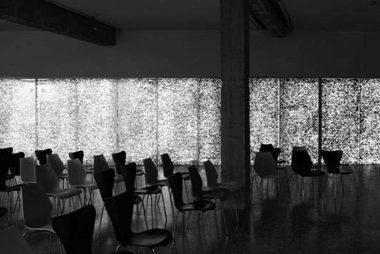 Paneles arquitectónicos de espuma de aluminio.