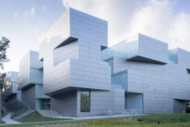 Centro de Artes Visuales de la Universidad de Iowa, de Steven Holl Architects
